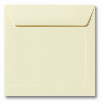07 Envelop 17x17 cm Roma Zachtgeel