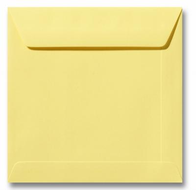 08 Envelop 17x17 cm Roma Kanariegeel