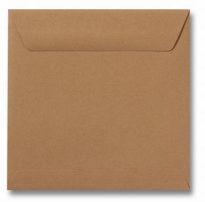 28 Envelop 17x17 cm Roma Bruin