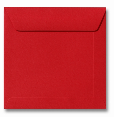 29 Envelop 17x17 cm Roma Pioenrood