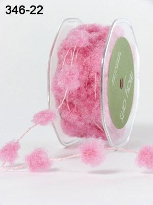 Pink Fuzzy / Pom-poms (Wired)