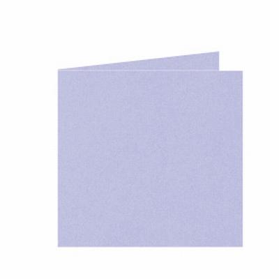 19 Dubbele kaart 15x15 CM Roma Lavendel per stuk