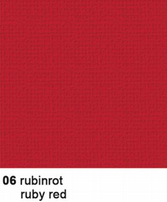 URSUS Cardstock Struktura Basic 1, Robijnrood