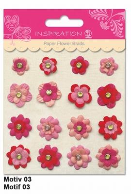 URSUS Paper Flower Brads, Motief 03