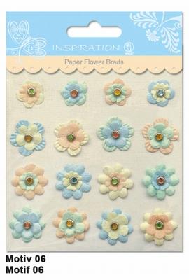 URSUS Paper Flower Brads, Motief 06