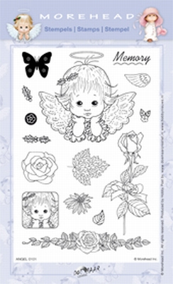 Clearstamp Morehead,  Angel Memory, 10x15 cm