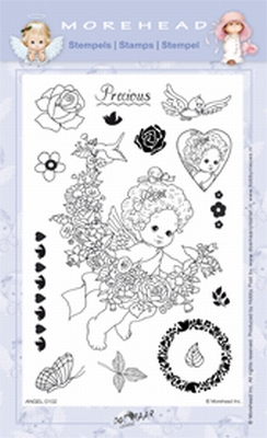Clearstamp Morehead,  Angel Precious, 10x15 cm