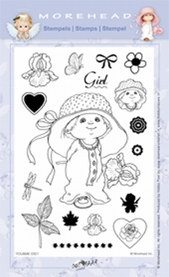 Clearstamp Morehead,  You&Me Girl, 10x15 cm
