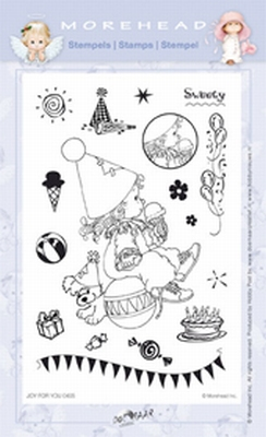 Clearstamp Morehead,  Joy for You Sweety, 10x15 cm