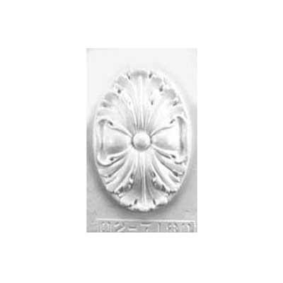 Gipsvorm ovaal ornament