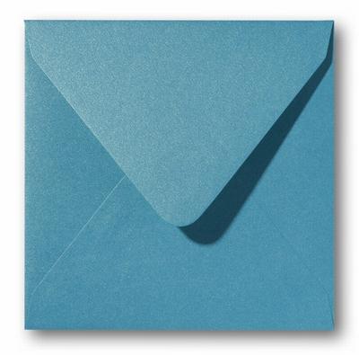 13 Envelop 14x14 cm Metallic Curacao