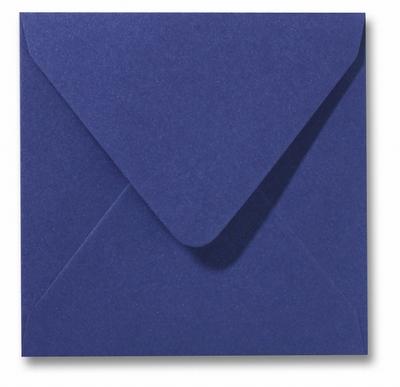 14 Envelop 14x14 cm Metallic Blue