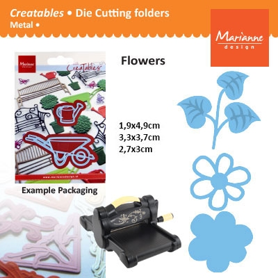 Marianne Design Creatables open flower trendy