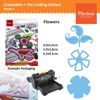 Marianne Design Creatables open flower hip