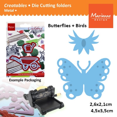 Marianne Design Creatables butterflies small