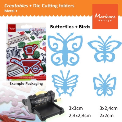 Marianne Design Creatables butterflies