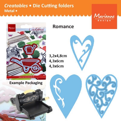 Marianne Design Creatables hearts