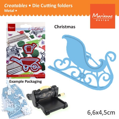 Marianne Design Creatables sleigh