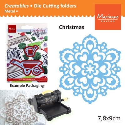 Marianne Design Creatables snowflake