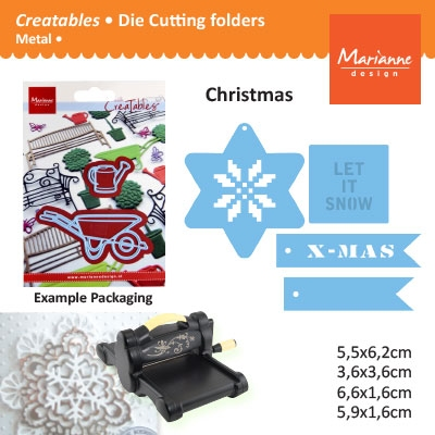 Marianne Design Creatables winter wishes