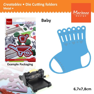Marianne Design Creatables Eline sock
