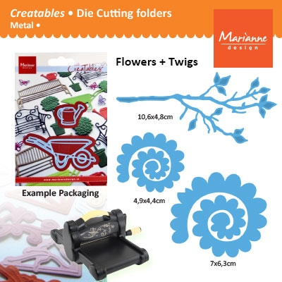 Marianne Design Creatables branch with flower 1