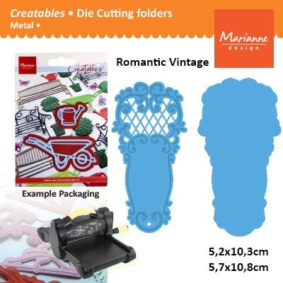Marianne Design Creatables vintage fan 2