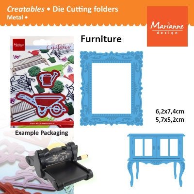 Marianne Design Creatables cupboard and frame