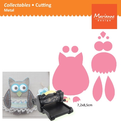 Marianne Design Collectables owl