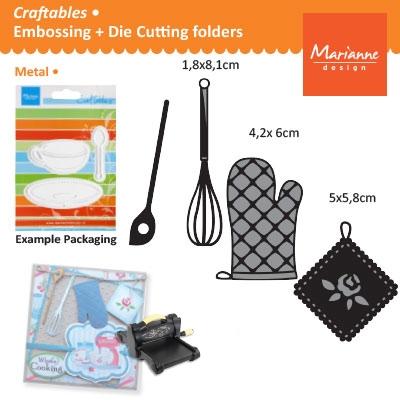 Marianne Design Craftables kitchen set