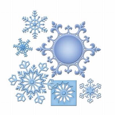 Shapeabilities S5-185 2013 Snowflake Pendant