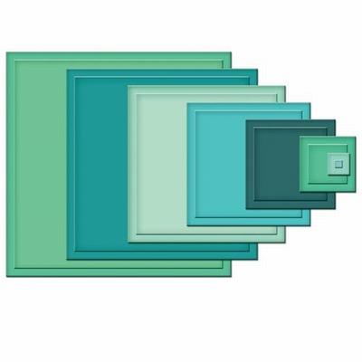 Nestabilities S4-128 Classic Squares SM