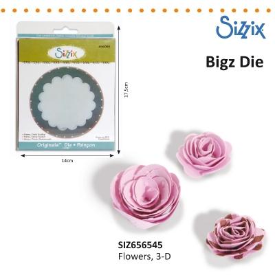 Sizzix Bigz Die 3-D flowers
