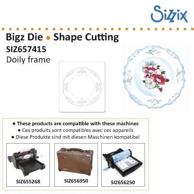 Sizzix Bigz die doily frame