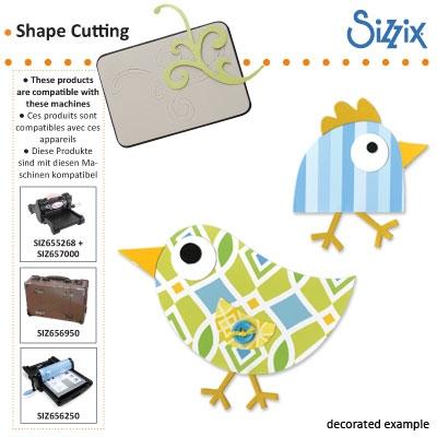 Sizzix Bigz die birds