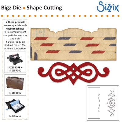 Sizzix bigz die edge scroll