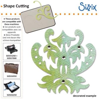 Sizzix Sizzlits die architectural detail