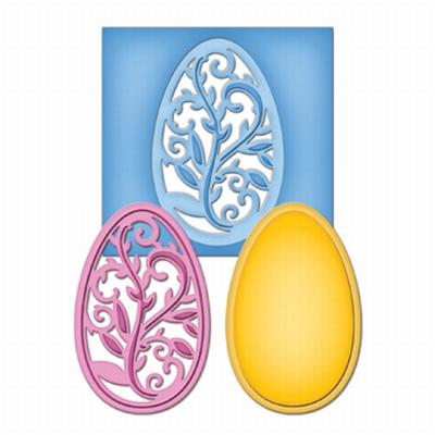 Spellbinders Die D-Lite S2-053 Filigree Egg