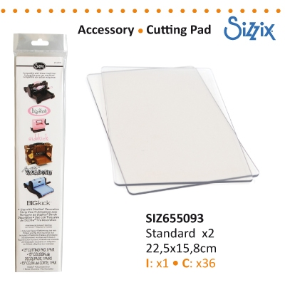 Sizzix accessory cutting pad standard 1 pair