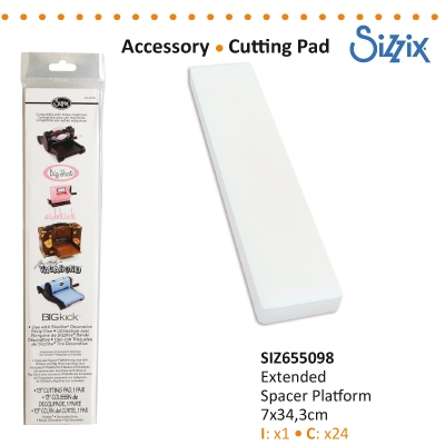 Sizzix accessory extended spacer platform
