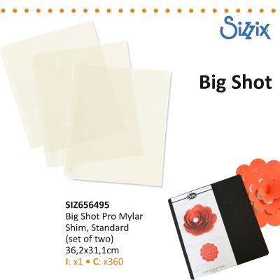 Sizzix big shot PRO mylar shim standard