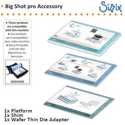 Sizzix big shot pro accessory solo platform adapter
