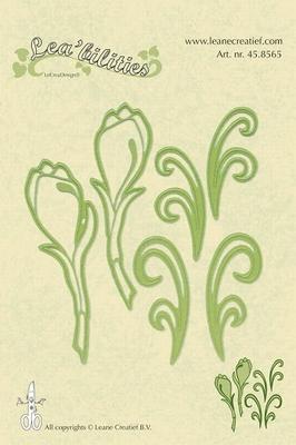 Lea bilitie® Flowers snij en embossing mal