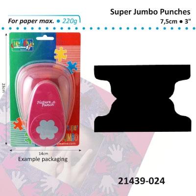 Picture punch super jumbo 7,5cm/3