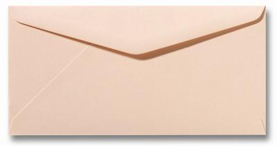 25 Envelop DL 11x22 CM Roma Abrikoos