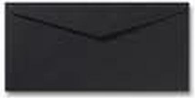34 Envelop DL 11x22 CM Roma Zwart