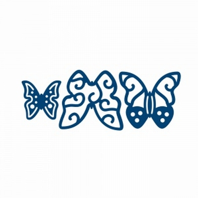 Tattered Lace Mini Butterflies (DX40)