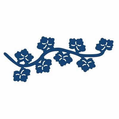 Tattered Lace Mini Oriental Ivy Flourish (DX13)