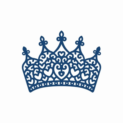 Tattered Lace Princess Crown (ACD306)