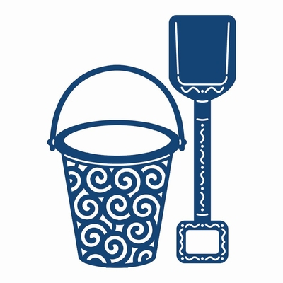 Tattered Lace Bucket & Spade (ACD336)